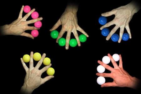 Color Ball's Multiplication (Vernet)