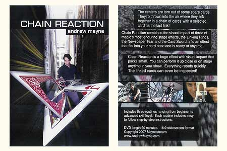 DVD Chain Reaction - andrew mayne