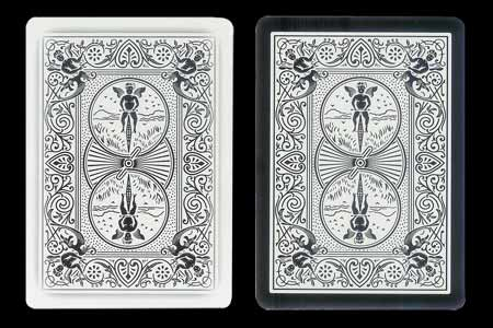 Double Back BICYCLE Card Ghost-Tiger