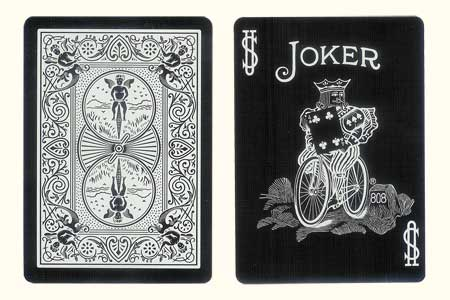 BICYCLE Tiger Joker Card with 4 of Clubs