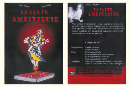 DVD La Carte Ambitieuse