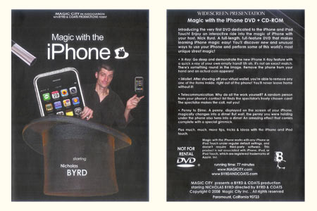 DVD Magic with the iPhone - nicholas byrd