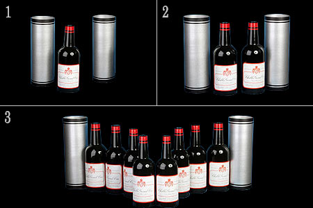 Multiplication of 8 vine bottles - tora-magic