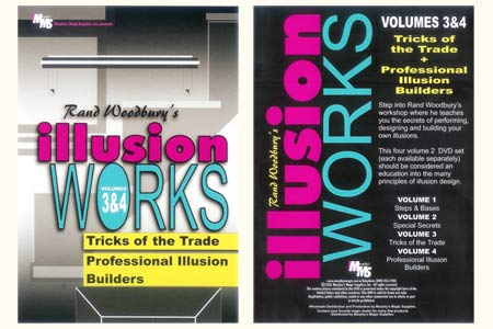 DVD Illusion Works Volumes 3 & 4 - rand woodbury