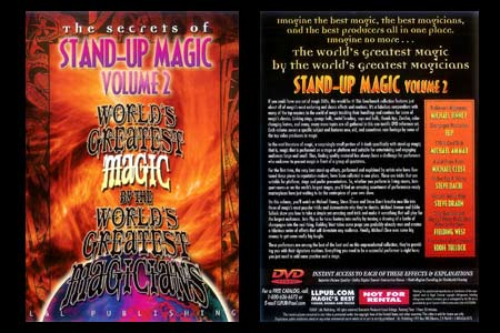 DVD The Secrets of Stand-up Magic (Vol.2)