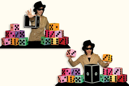 Super Big Dice Frame - tora-magic