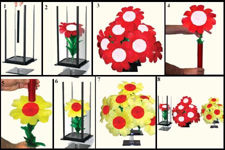 Special Flower maker tube - tora-magic