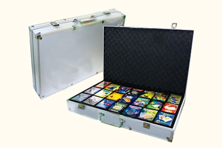 Case with 21 magic items.