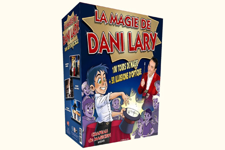 Coffret 100 Tours + 52 illusions d'optique - dani lary