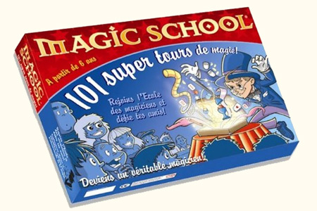Coffret Magic School 101 Tours