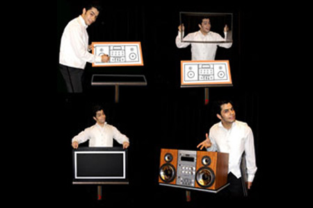Hamed's CD player (with suitcase) - tora-magic