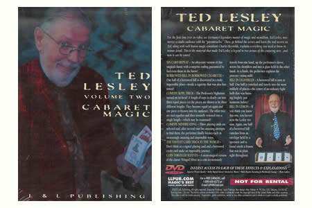 DVD Cabaret Magic vol.2 - ted lesley