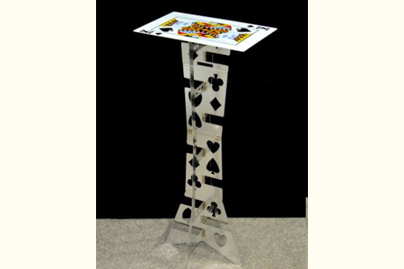 Folding table aluminium (Card Desktop Silvery)