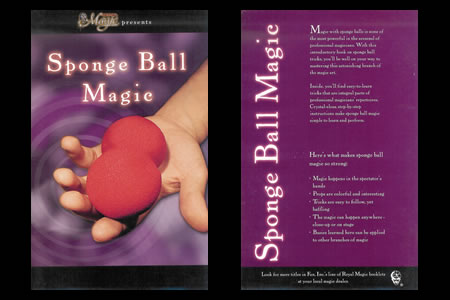 Sponge Ball Magic Booklet (By Royal)