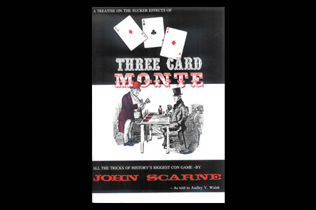 Three card monte by Scarne