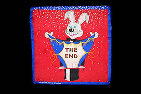 Foulard Lapin The End (60 x 60 cm)