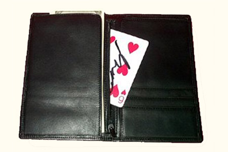Trick Card in Wallet by Vernet Balducci//Kaps
