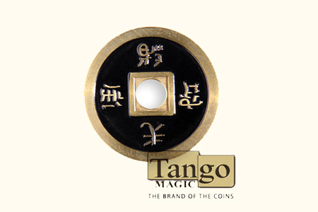 Chinese Coin black Color - mr tango