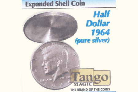 Coquille ½ Dollar 1964 (argent pur) Face