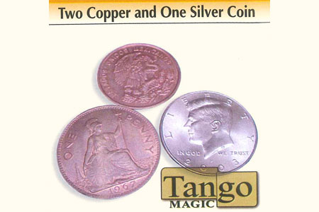 Two Copper and One Silver