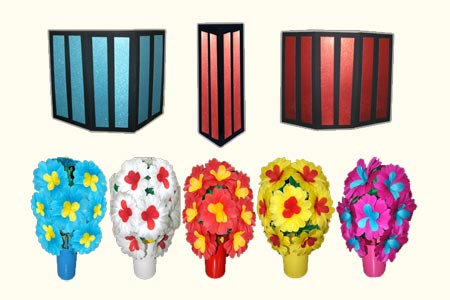 Appearing 5 Flower Bouquets from Tube - tora-magic