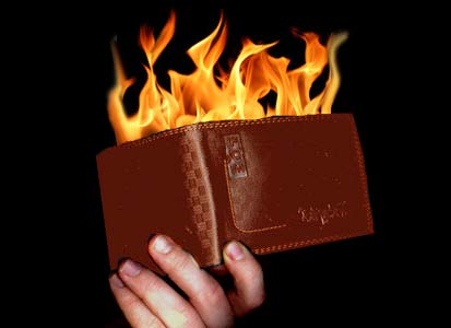 New Fire Wallet (Brown) - tora-magic