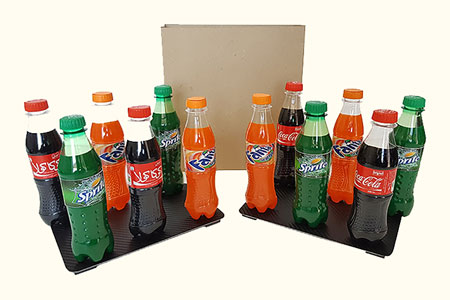 Apparition de 12 sodas d'un sac vide - tora-magic