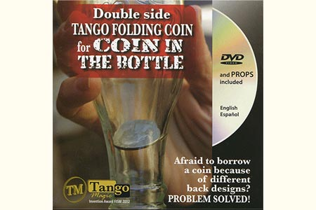 Folding Coin 50 cts d'euro (Double + DVD)