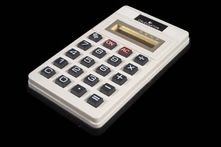 Calculatrice qui mouille