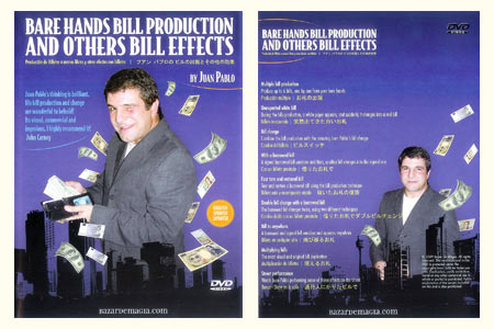 Bare Hands bill production (+ DVD)