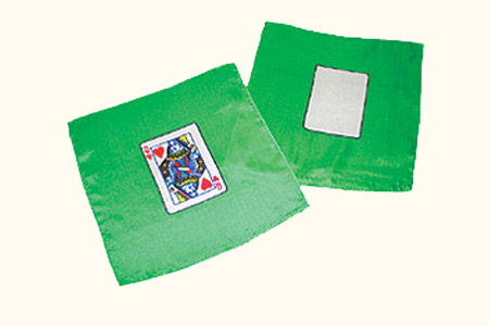 Card silk set - Queen of Hearts + Blank card - 20