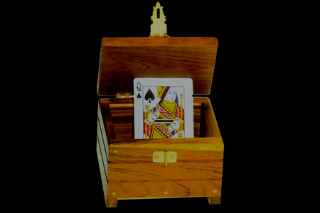 Caja con candado Card lock Chest