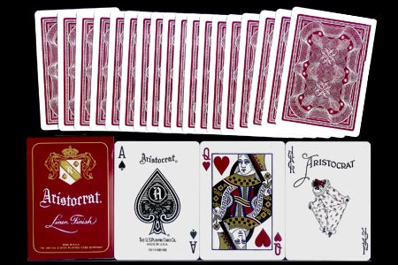 Jeu Aristocrat Linen Finish