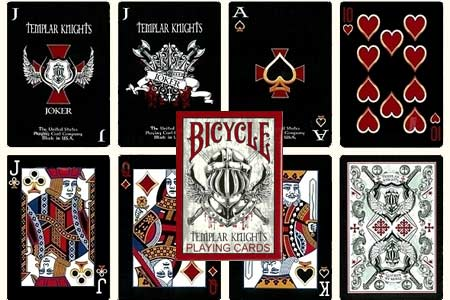 Baraja BICYCLE Templar Knights