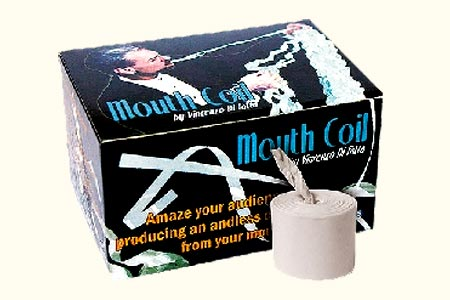 Mouth Coils White 50 Feet