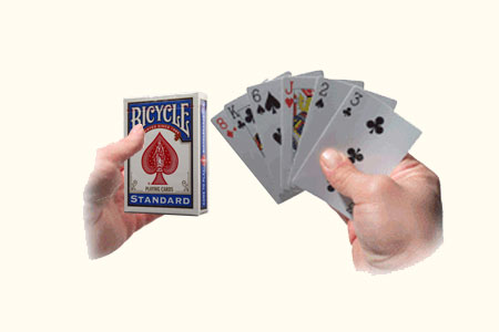 Six Cards Repeat (Bicycle Backs)