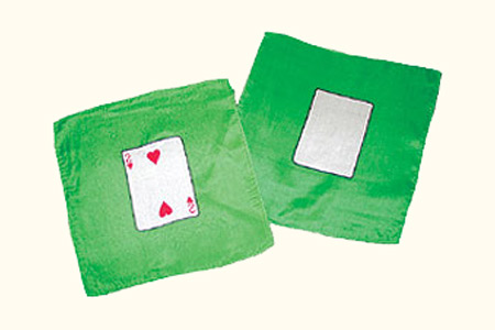 Card silk set - 2 of Hearts + Blank card - 20