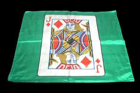 foulard valet de carreau 45 x 45 cm tour de magie. Black Bedroom Furniture Sets. Home Design Ideas