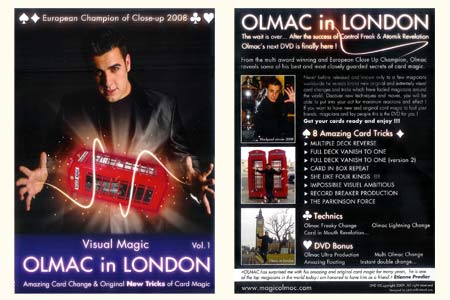 DVD Olmac In London (Vol.1)