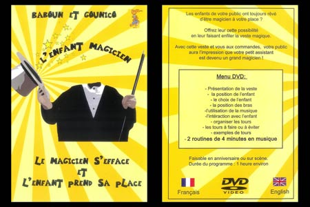 dvd l enfant magicien tour de magie. Black Bedroom Furniture Sets. Home Design Ideas