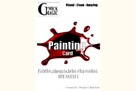 Painting Card (DVD + Gimmick)