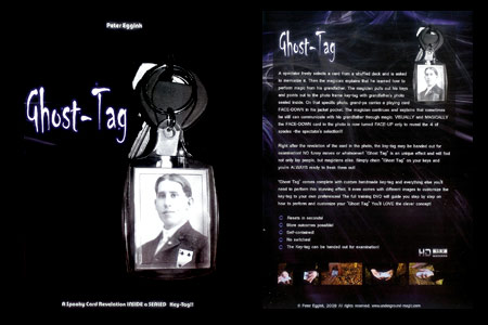 Ghost-tag (DVD + Gimmick)