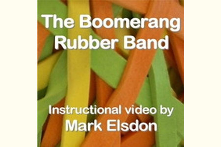 Boomerang Rubber Band