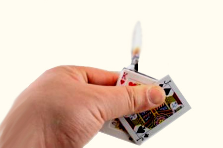 Shock Card Lighter