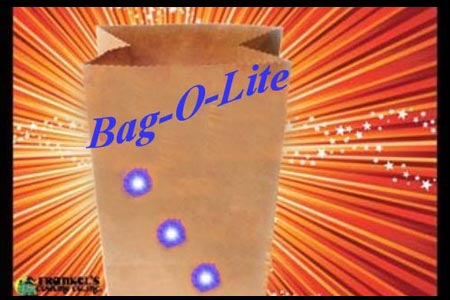 Bag-o-lites (Blue Lights)