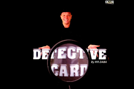 Detective card (DVD + Gimmick)