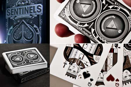Bicycle sentinels Deck
