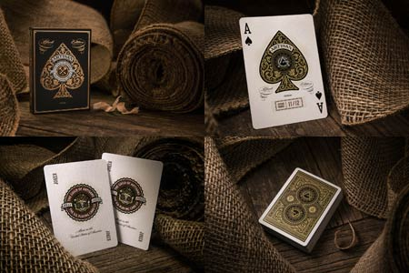 Bicycle Black Artisan Deck