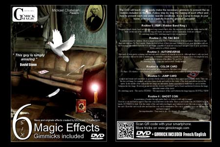 Six Magic Effects (DVD + Gimmicks)