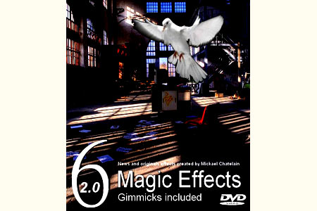 Six Magic Effects 2.0 (DVD + Gimmicks)
